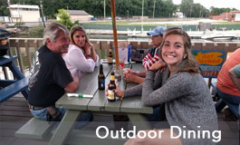 Outdoor Dining at Bridges Waterside Grille